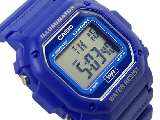 Casio F108WH blue