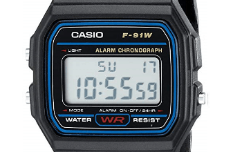 Casio F91W-1 review