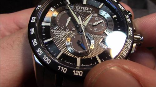 Citizen AT4010-50E dial