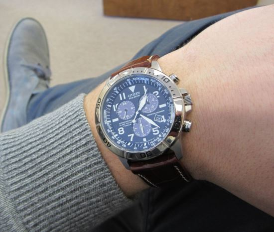 Citizen BL5250-02L on wrist