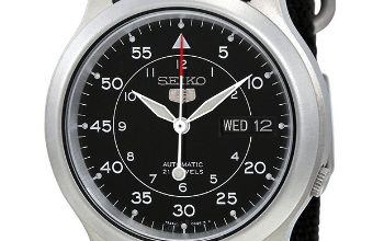 Seiko SNK809 review