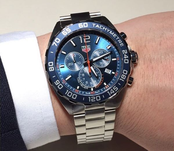 TAG Heuer CAZ1014.BA0842 on wrist