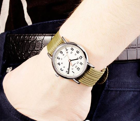 Timex T2N651 on wrist