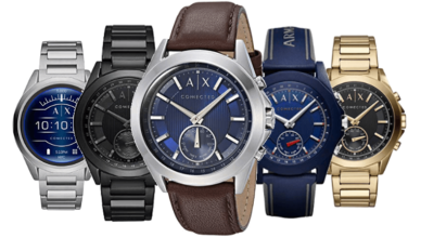armani exchange smartwatch review