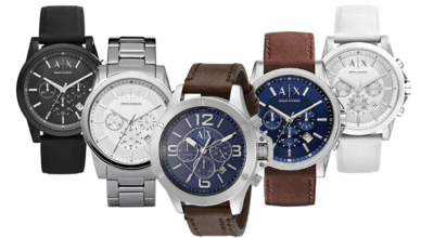 armani exchange watch review