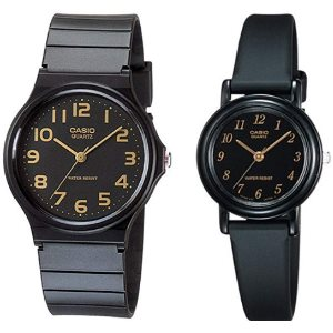 Casio MQ24-1B2 LQ139A-1 Men and Womens Classic Analog Watches