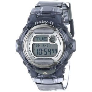 Casio Womens BG169R-8 Baby-G Gray Resin Sport Watch