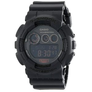 GD-120 Military Black Sports Stylish Watch