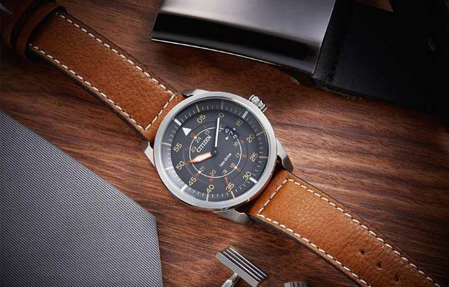 Citizen AW1361-10H on desk