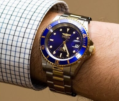 Invicta 8928 on wrist