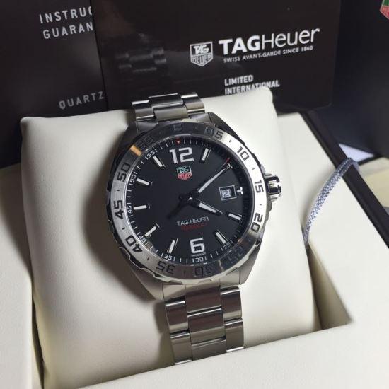 TAG Heuer WAZ1112.BA0875 unboxing