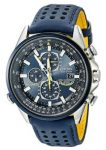 AT8020-03L Blue Angels World Chronograph Atomic Timekeeping Watch with Day/Date