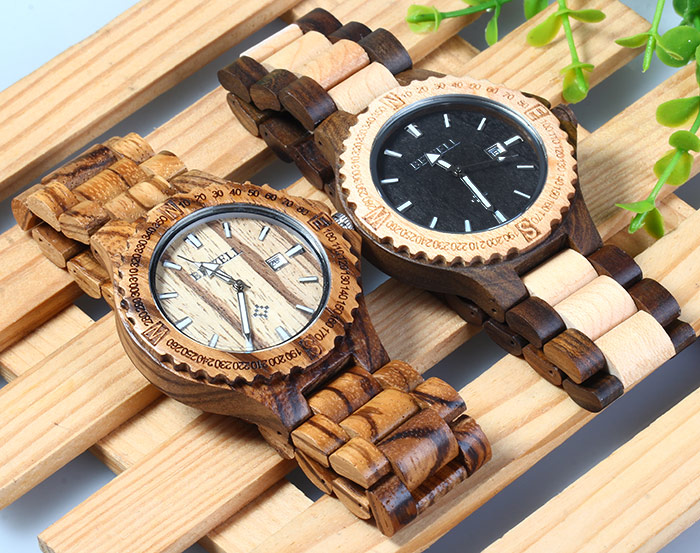 bewell wood watches