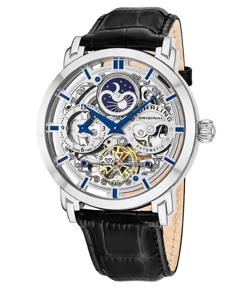 Stuhrling Original 371.01 Luxury Skeleton Watch