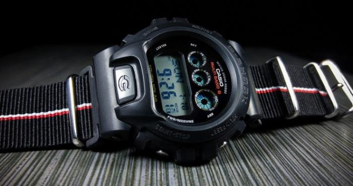 Casio GW6900-1 close up