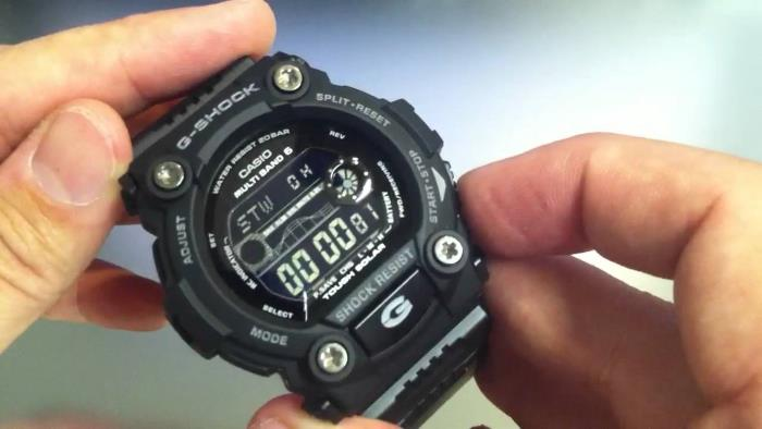 Casio GW7900B-1 on hands