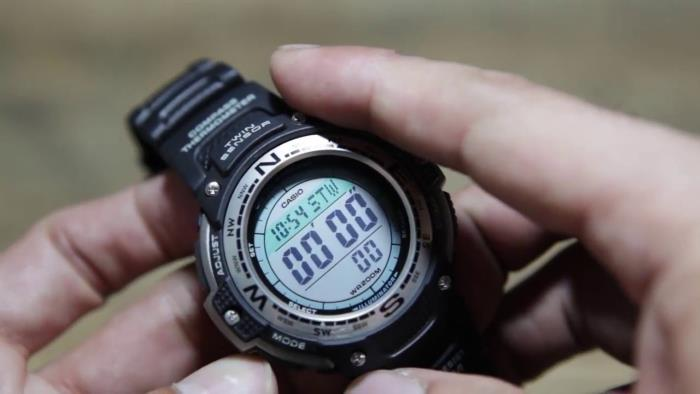 Casio SGW100-1V on hands