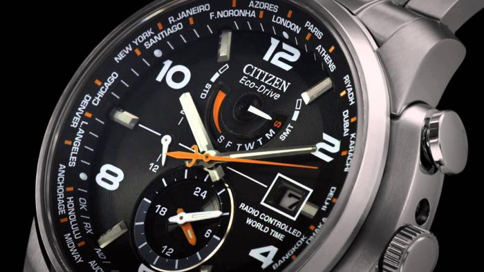 Citizen AT9010-52E close up