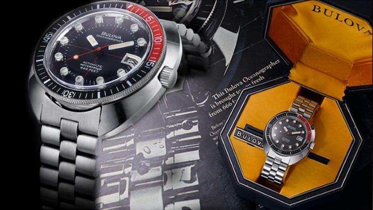 Bulova devil diver 98B320 close up