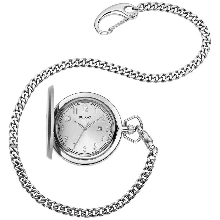 bulova pocket watch 96B270 full