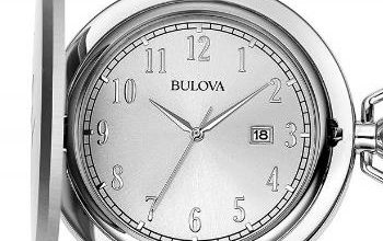 bulova pocket watch 96B270 review