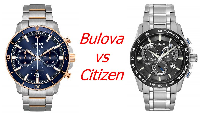 bulova vs citizen which one is better