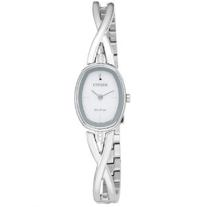 Citizen Womens Eco-Drive Silhouette Bangle Watch