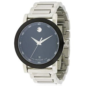 Movado Museum Quartz Male Watch 0606604