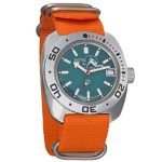 Vostok Amphibian Scuba Dude Automatic Mens Wristwatch