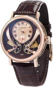 brown colored wristwatch