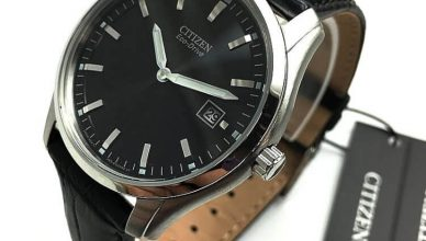 Citizen AU1040-08E case close up
