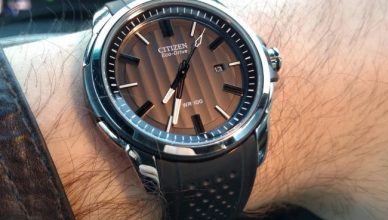 Citizen AW1150-07E on wrist