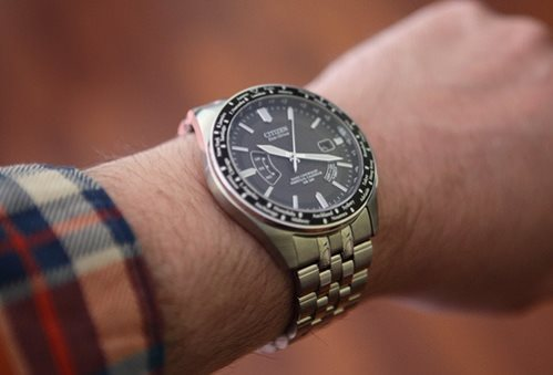 Citizen CB0020-50E on wrist