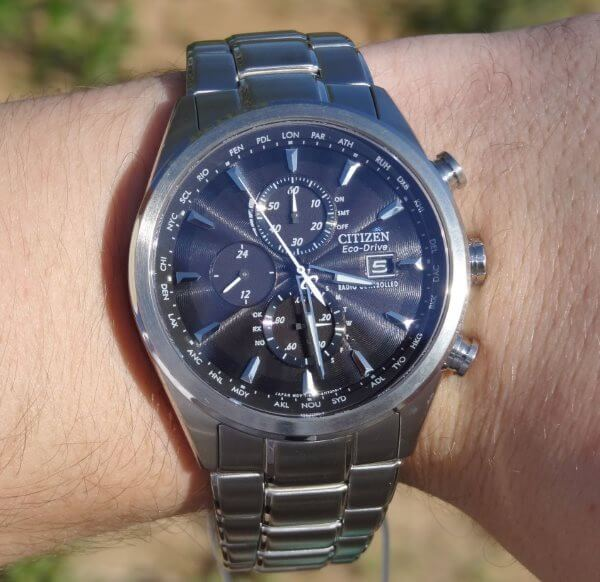 citizen AT8010-58E on wrist