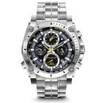 Bulova Mens 96B175 Precisionist Stainless Steel Watch