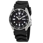 Seiko SKX007J1 Analog Japanese-Automatic Black Rubber Divers Watch