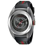 Gucci SYNC XXL Swiss Quartz Stainless Steel Watch with Rubber Band