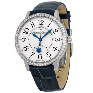 Jaeger LeCoultre Rendez-Vous Silver Dial Diamond Ladies Watch Q3448420