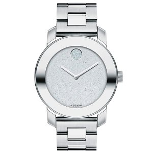 Movado Womens BOLD Iconic Metal Watch Silver (3600334)
