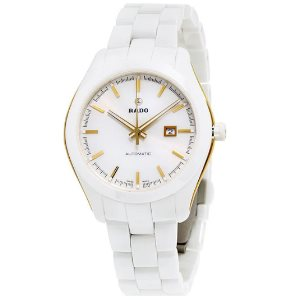 Rado Hyperchrome White Dial Ceramic Automatic Ladies Watch R32257012