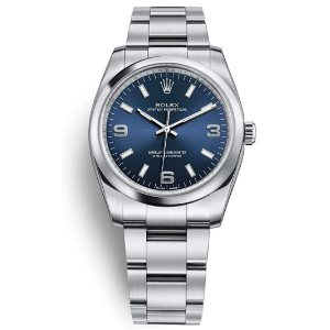 Rolex Oyster Perpetual 34 Blue Dial