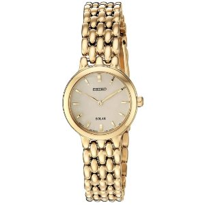 Seiko Womens Dress Japanese-Quartz Watch (Model SUP352)