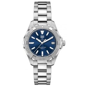 TAG Heuer Womens WBD1312.BA0740 Aquaracer Stainless Steel Watch