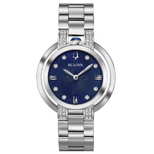 Bulova Womens 96R225 RUBAIYAT Silver Watch