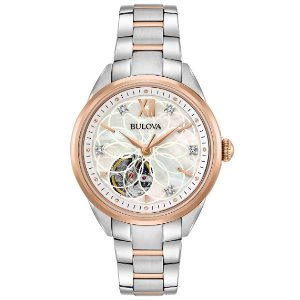 Bulova Womens Automatic Watch 98P170