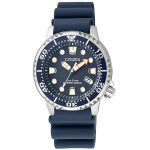 Citizen Womens EP6051-14L Blue Quartz Watch with Plastic Strap