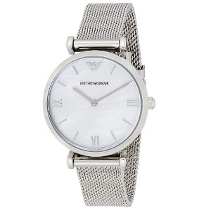Emporio Armani Womans Watch - mother of pearl MOP dial