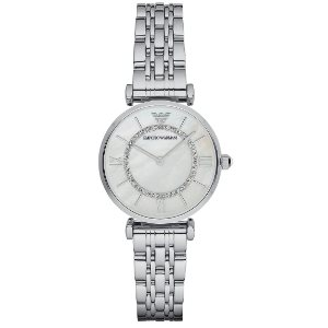Emporio Armani Women's AR1908 Retro Silver Watch