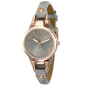 XOXO Womens Analog Watch with Rose Gold-Tone Case