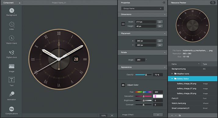 best software for designing a watch